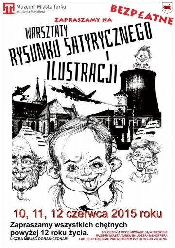 Warsztaty rysunku satyrycznego i ilustracji