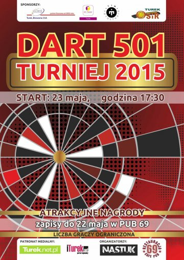 DART 501 Turniej