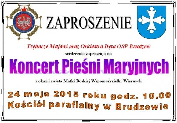 Koncert Pie�ni Maryjnych