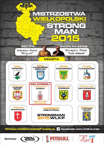 Mistrzostwa Wielkopolski STRON MAN 2015
