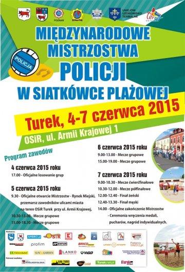 Mi�dzynarodowe Mistrzostwa Policji w Siatk�wce...