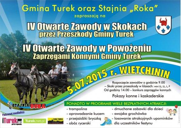 IV Otwarte Zawody w Skokach i Powo�eniu