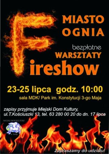 Warsztaty Fireshow