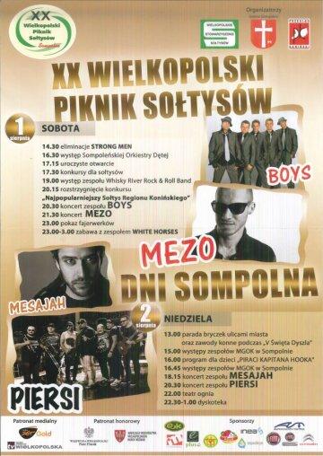 Sompolno: XX Wielkopolski Piknik So�tys�w
