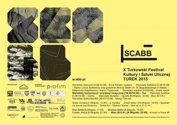 Zobacz program X Festivalu SCABB