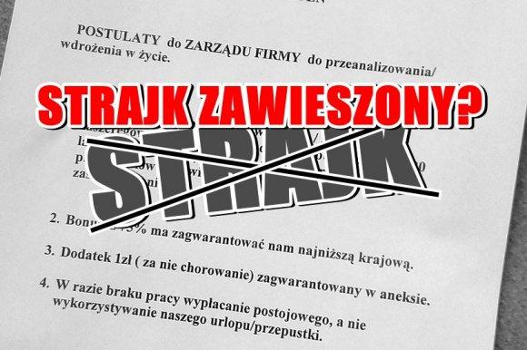 Malan�w: Malan�w: Jedni chc� strajkowa�, inni normalnie pracowa�