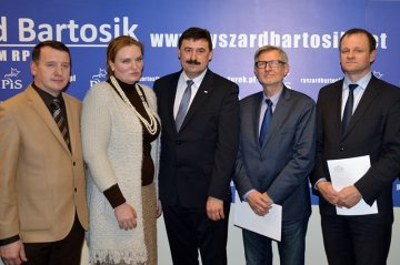 Wideo: Otwarcie biura pos�a Bartosika