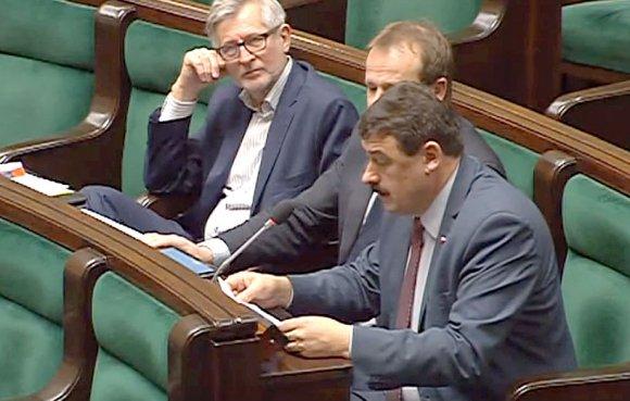 Sejm: Ryszard Bartosik w sprawie KWB Adam�w