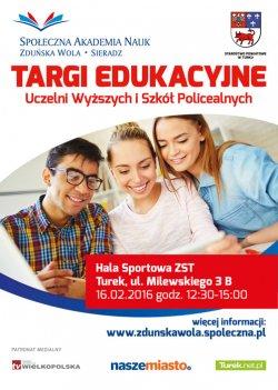 III Targi Edukacyjne Uczelni Wy�szych i Szk� Policealnych w Turku