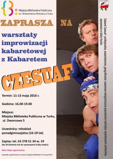Warsztaty improwizacyji kabaretowej Kabaretem...