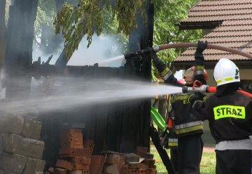 Wideo: Pożar stodoły w Mikulicach
