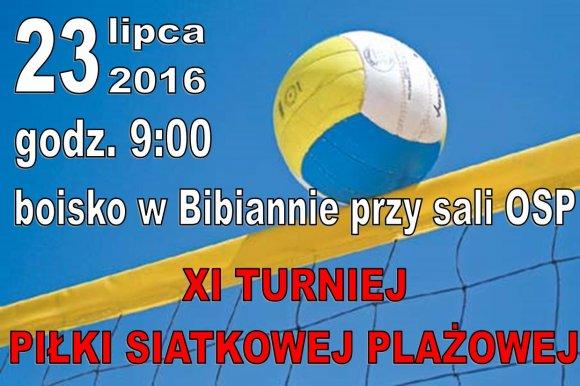 Bibianna: Zmiana terminu XI Turnieju Pi�ki...