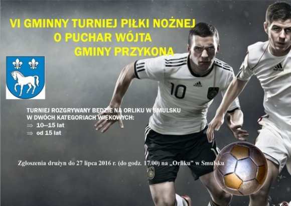VI Gminny Turniej Pi�ki No�nej o Puchar W�jta...