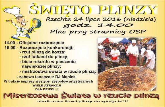 �wi�to Plinzy w Rzechcie