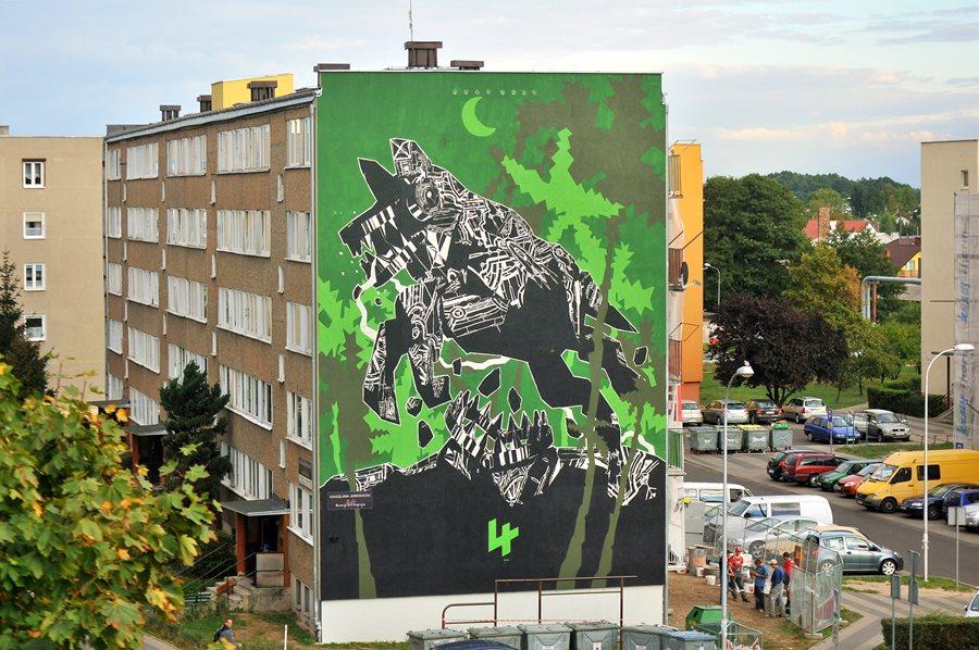 Czyje są turkowskie murale? Słów kilka o komercjalizacji przestrzeni publicznej - foto: M. Derucki