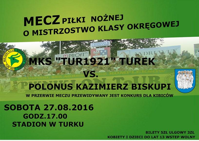 MKS Tur 1921 Turek vs Polonus Kazimierz Biskupi