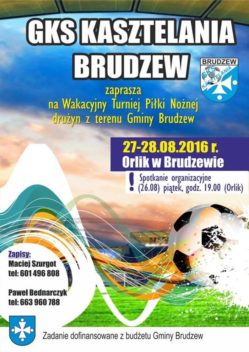 Wakacyjny Turniej Pi�ki No�nej w Brudzewie
