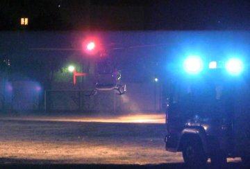 Wideo: �mig�owiec LPR w nocy l�dowa� w Turku