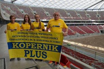 Kopernik Plus na uroczystej gali na Stadionie...