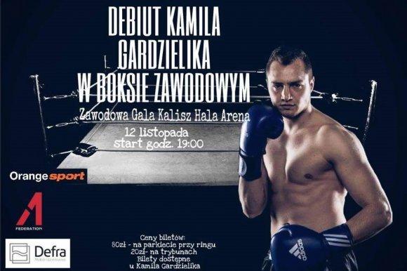 Walka Kamila Gardzielika w hali Kalisz Arena