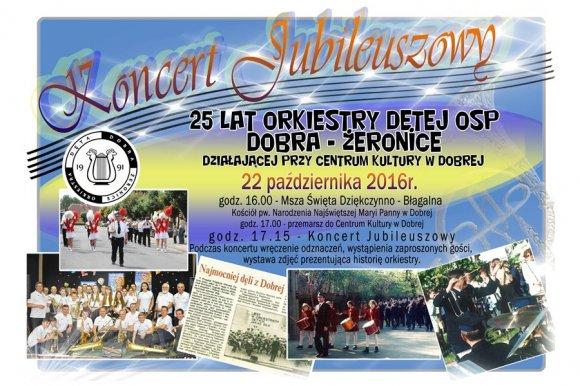25-lecie Orkiestry D�tej OSP Dobra-�eronice