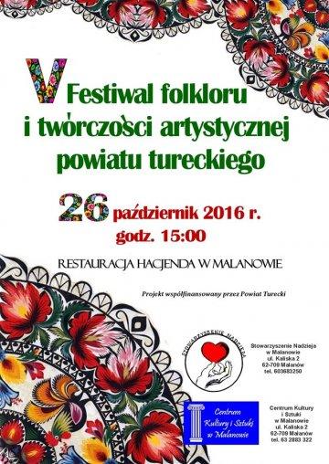 V Festiwal Folkloru i Tw�rczo�ci Artystycznej...