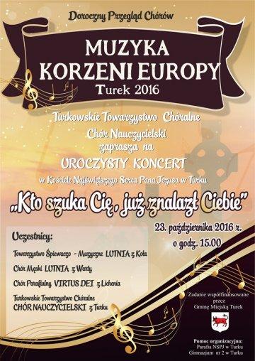 Muzyka Korzeni Europy: Kto szuka Ci�, ju�...