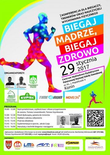 Konferencja dla biegaczy: Biegaj mądrze, biegaj...