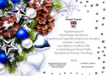 Życzenia Powiatu Tureckiego