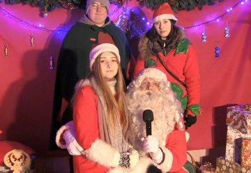 Wideo: Życzenia Św. Mikołaja i iluminacja...