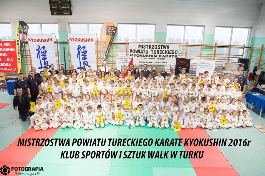Karate: Mistrzostwa w Kawęczynie
