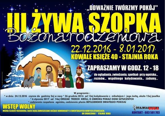 Kowale Księże: Taka żywa szopka tyko w Stajni...