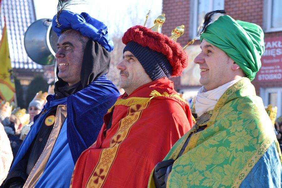Po raz drugi w Malanowie szli w orszaku Trzej Królowie  - Foto: G. Oblizajek