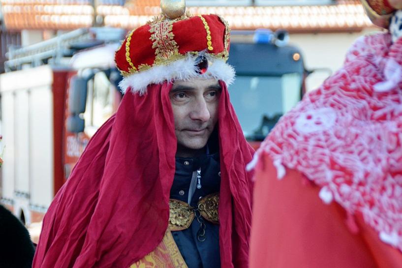 Władysławów: Orszak Trzech Króli nie wystraszył się mrozu - foto: Arkadiusz Wszędybył