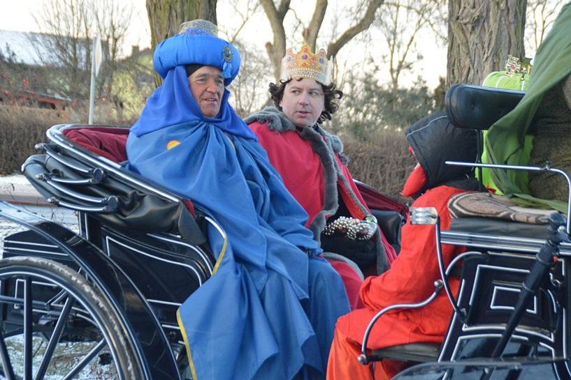 Galew: Z Trzema Królami przemierzali okolice Sanktuarium - foto: Arkadiusz Wszędybył
