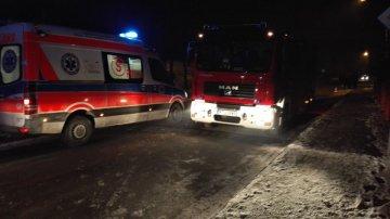Władysławów: Gasili pożar kotłowni