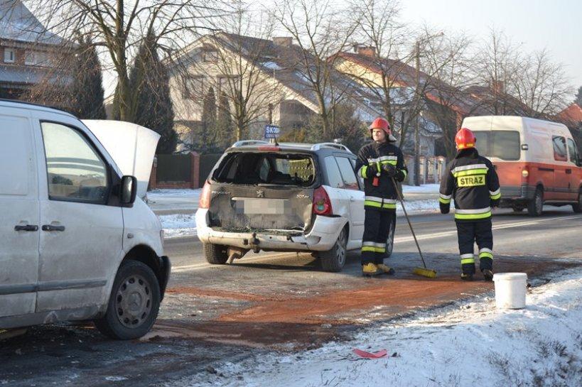 BMW w Clio, VW w Scanię itd. Wtorek pełen kolizji - Do kolizji doszło także w Słodkowie.