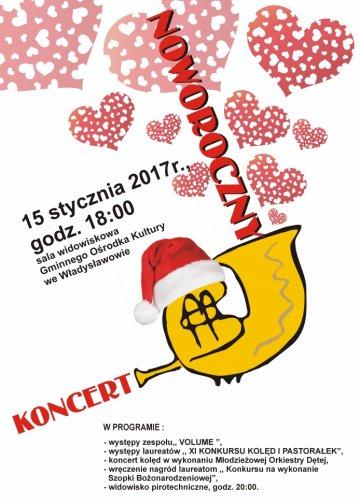 Władysławów: Koncert Noworoczny już 15 stycznia