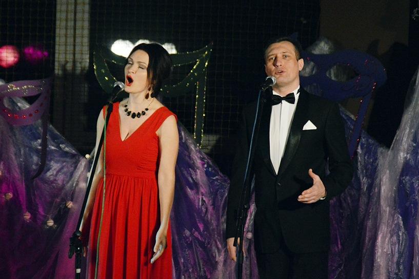 Tuliszków: Artyści operetkowi z Kijowa dali Koncert Karnawałowy, jakiego jeszcze nie było - foto: Arkadiusz Wszędybył