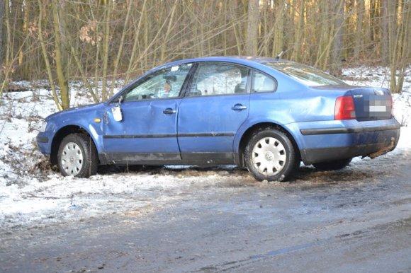 Gm. Malanów: Utraciła panowanie nad pojazdem....