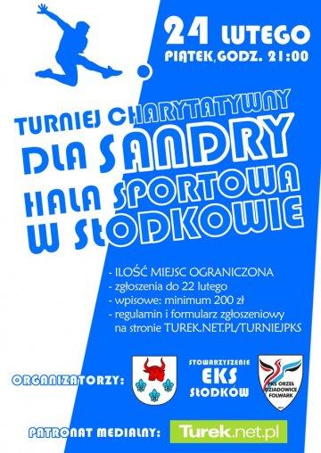 Turniej Charytatywny dla 6-letniej Sandry