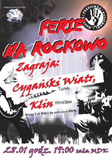 Ferie na Rockowo: Cygański Wiatr i Klin