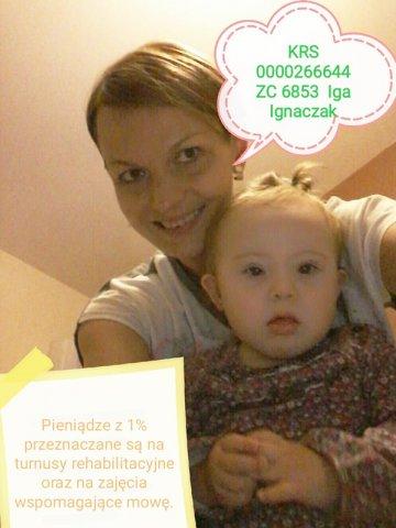1% dla Turku: Iga potrzebuje wsparcia. Pomóżmy jej