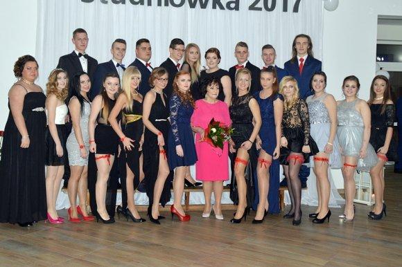 Oto klasy maturalne ZSR CKP w Kaczkach...