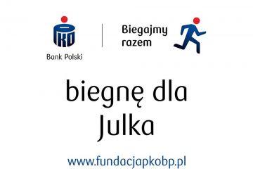 Pobiegnij dla Julka, pomóż mu w walce z chorobą