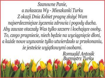 Życzenia Samorządu Miasta Turek