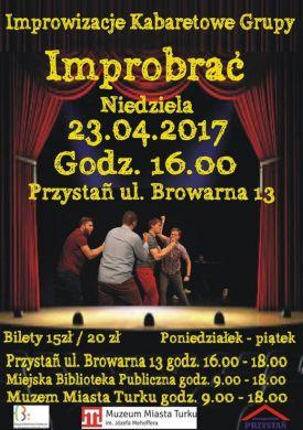 Improwizacje teatralno-kabaretowe w Przystani