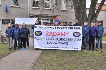 Wideo: Pracownicy Poczty Polskiej żądają godnej...