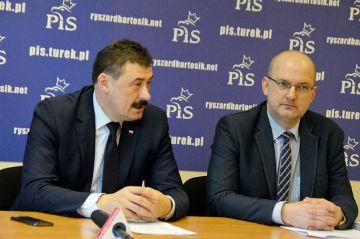 Poseł Bartosik zapowiada drogowe inwestycje....