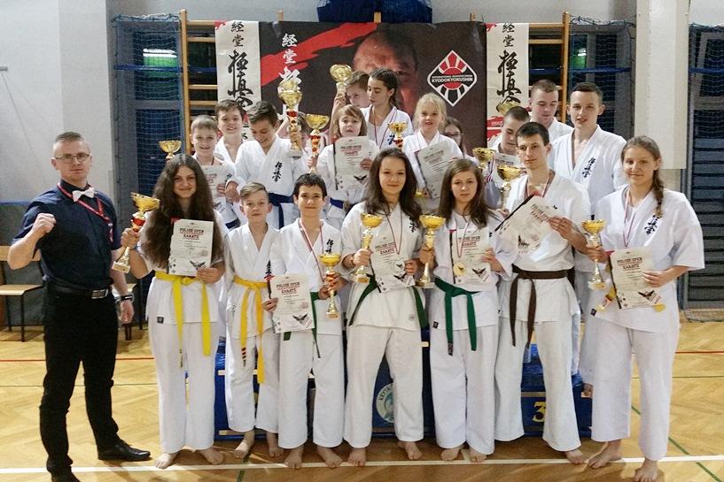 Karatecy zdobyli 15 medali podczas Międzynarodowych Mistrzostwa Polski w Wadowicach
